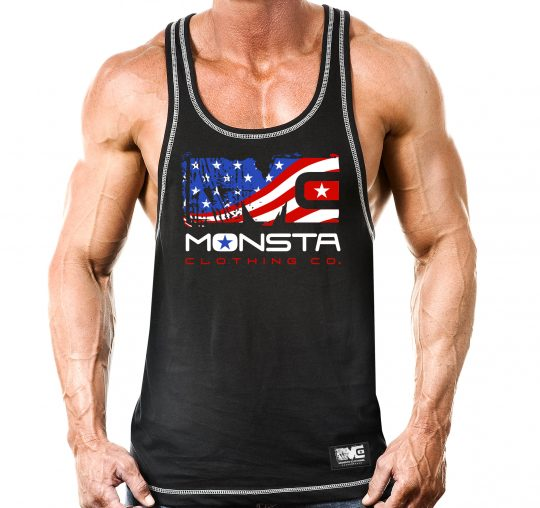 Military Tan SCAN FOR GROWTH Bodybuilding Tee NEW Men/'s Monsta Clothing SWOLE