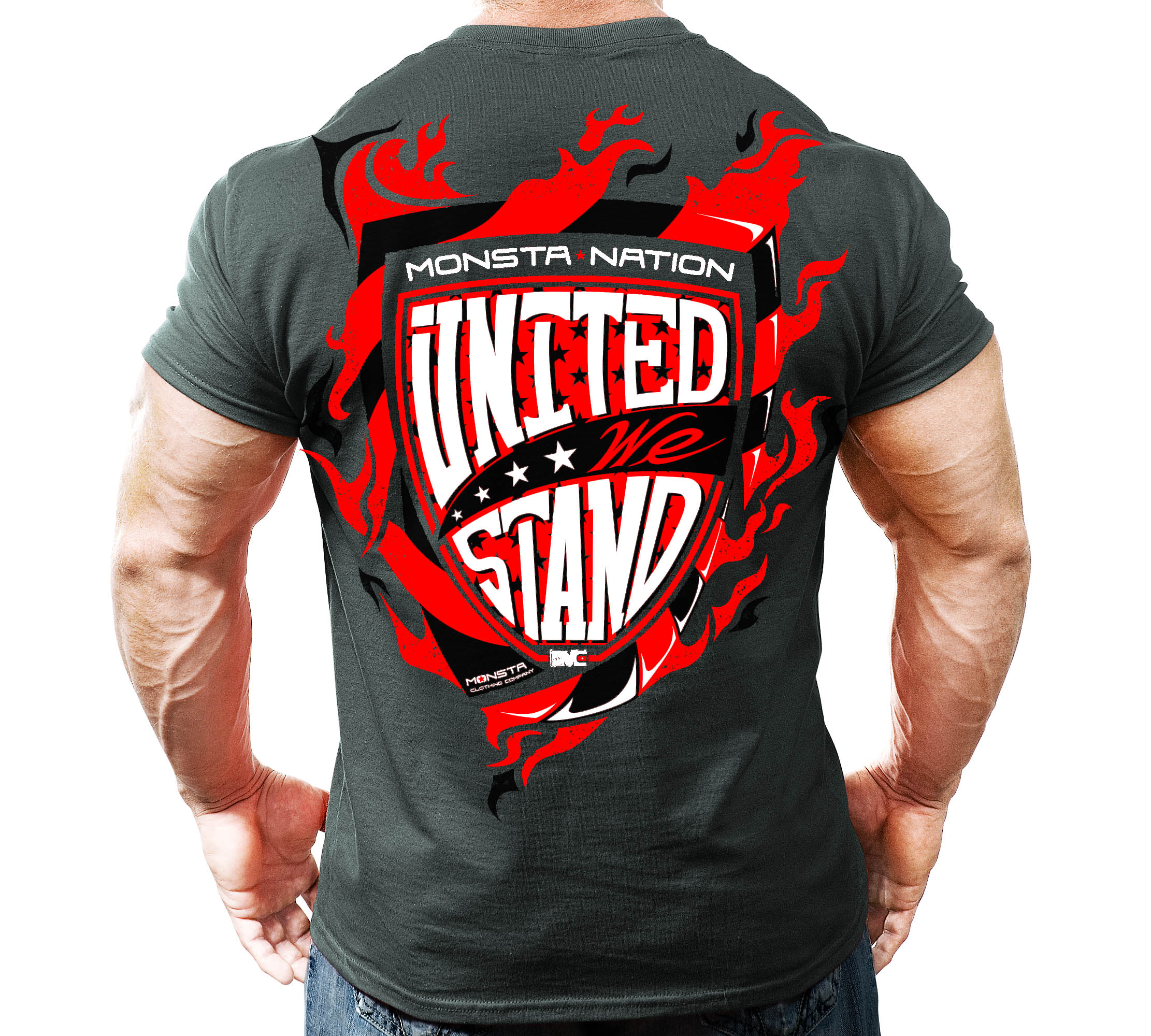 Workout Clothing Sale Monsta Nation United We Stand T