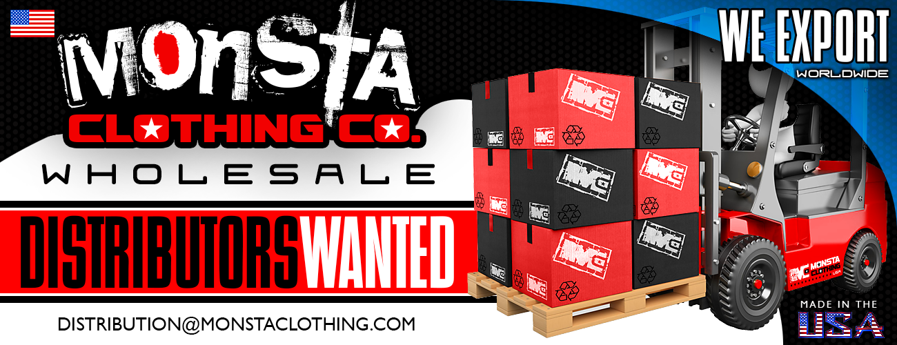 Distributors Wanted – Monsta Clothing