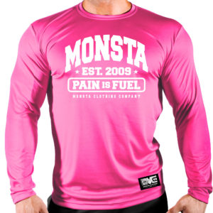 Breast Cancer: MONSTA est09 (Pain is Fuel)-236: Pink