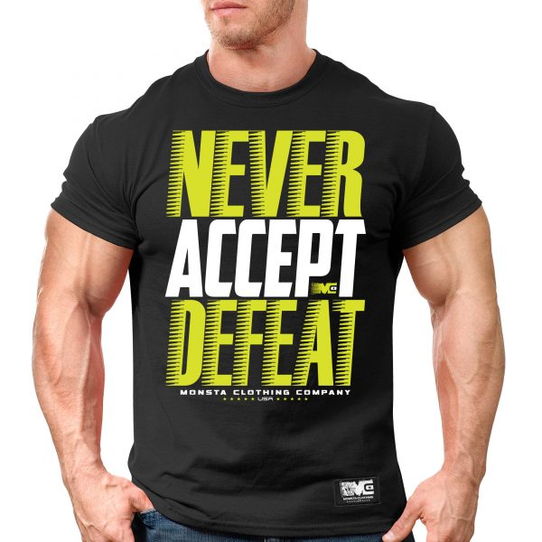Never Accept Defeat-232: WT-Safety Yellow